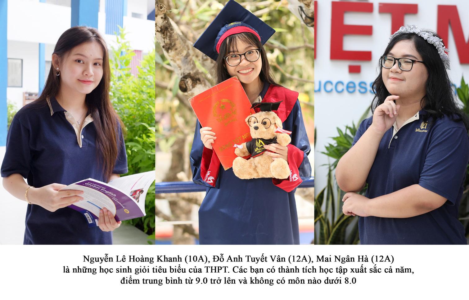 Những gương mặt trẻ tiêu biểu của trường Việt Mỹ Vũng Tàu - Ảnh 1.