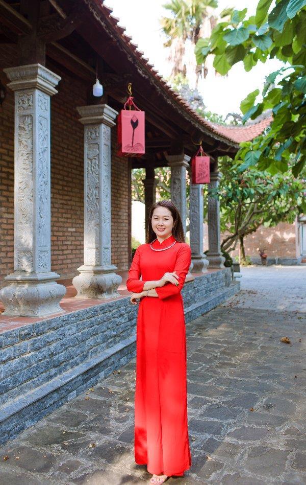 Đỗ Tiến Vũ: Trang phục truyền thống tôn vinh nét đẹp phụ nữ Việt - Ảnh 3.