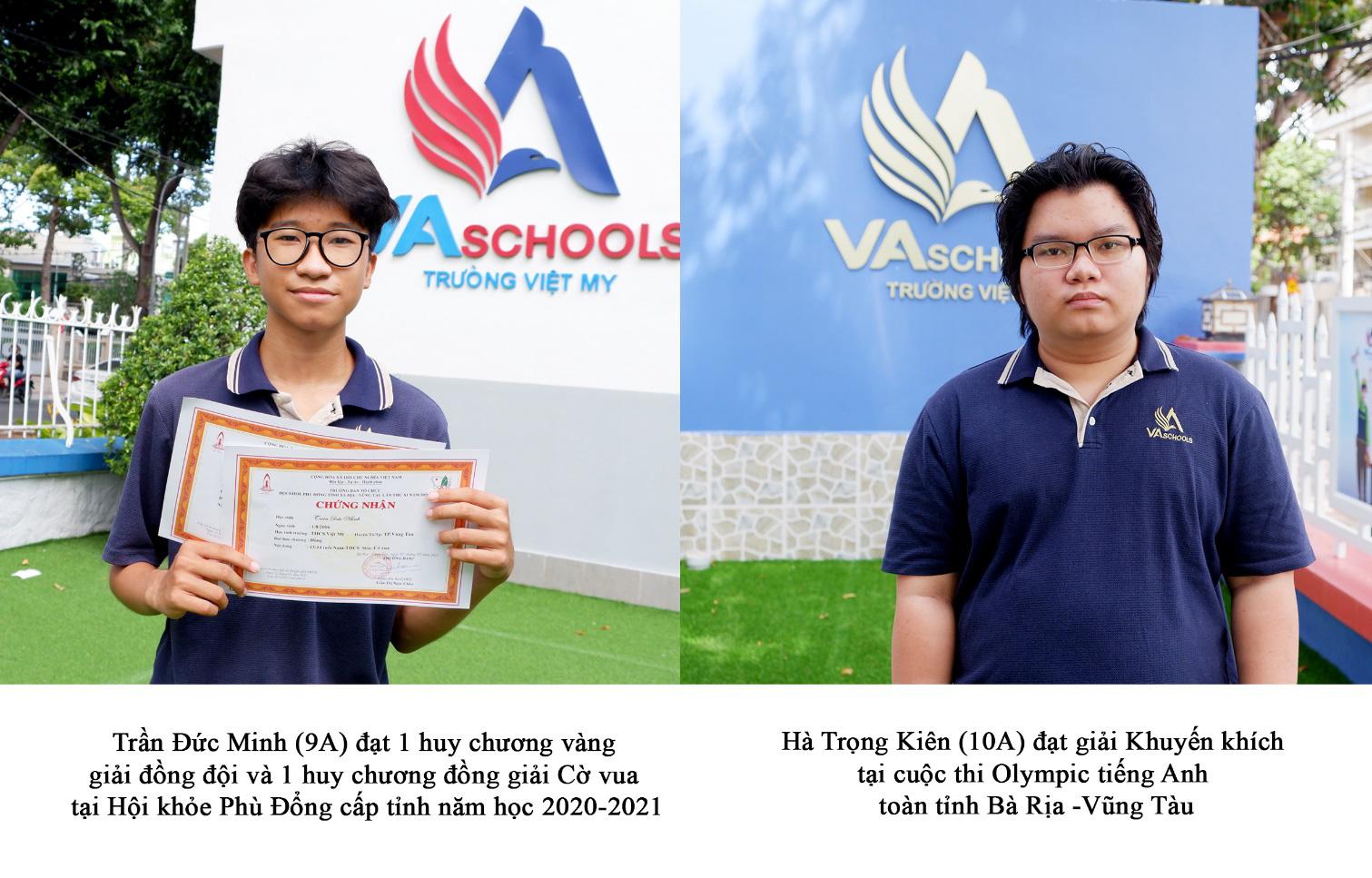 Những gương mặt trẻ tiêu biểu của trường Việt Mỹ Vũng Tàu - Ảnh 4.