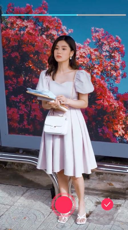 """Vừa chạm mặt Hoàng Yến Chibi, Lãnh Thanh đã rơi vào trạng thái """"yêu em từ cái nhìn đầu tiên"""" trong phim ngắn mới ra mắt - Ảnh 3."""