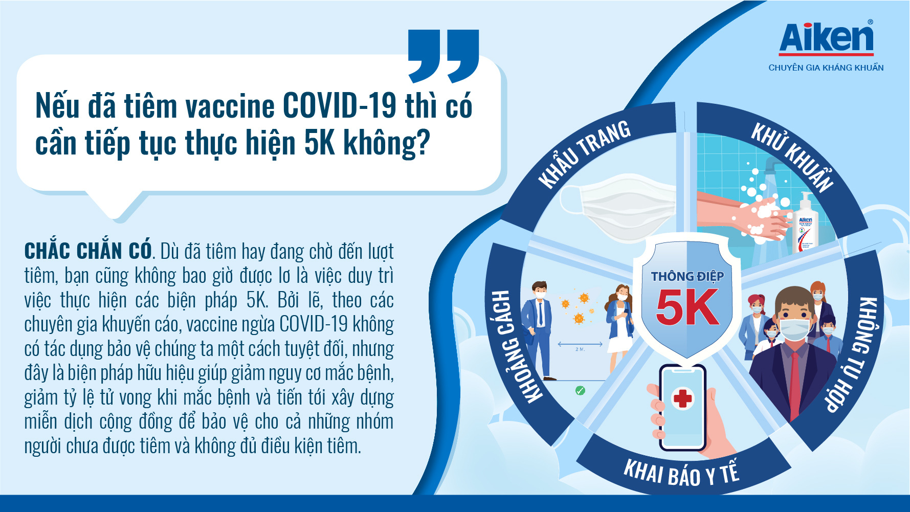 Giải đáp 1001 thắc mắc thường gặp, giúp bạn tự tin và an tâm hơn khi đi tiêm phòng COVID-19 - Ảnh 7.