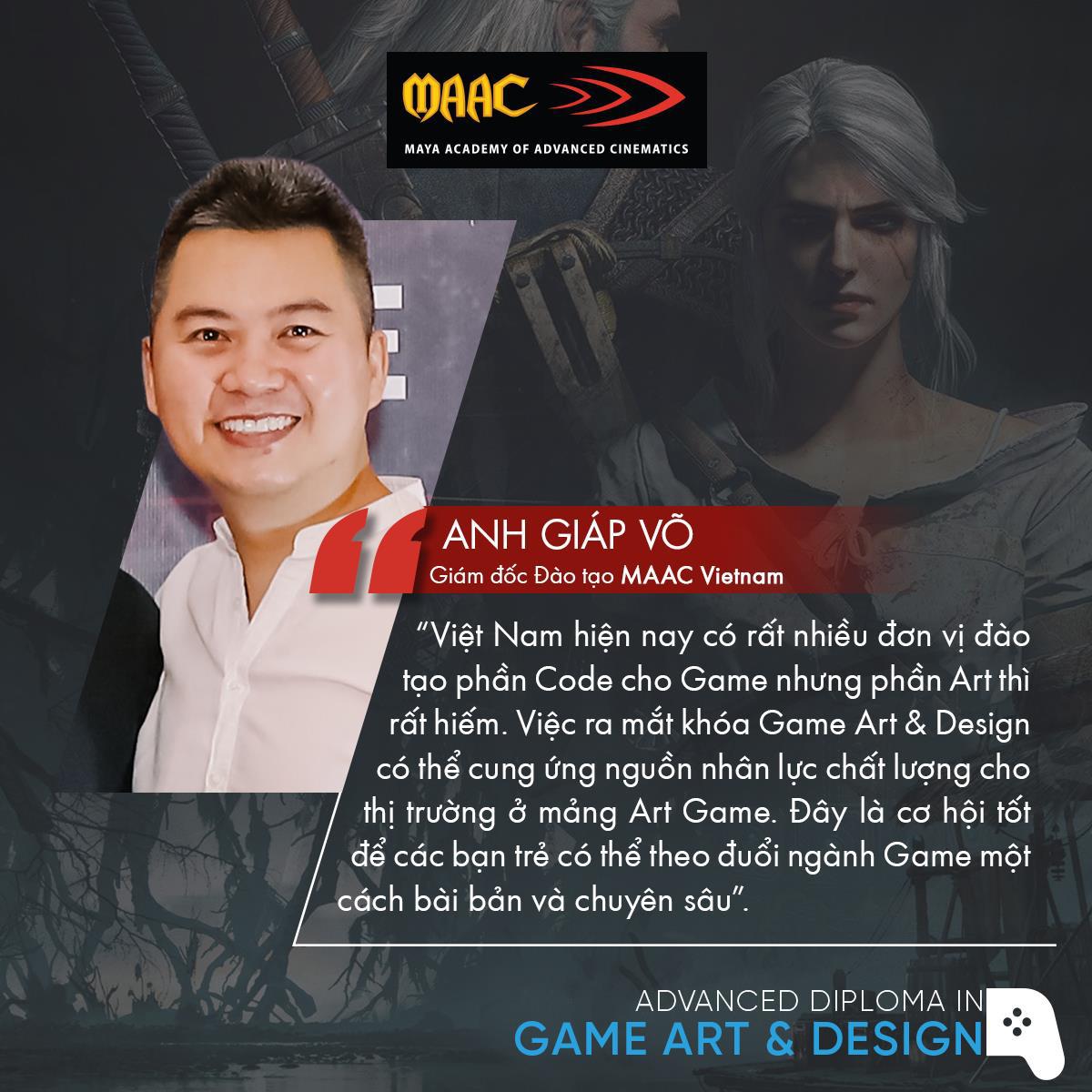 MAAC Vietnam ra mắt chương trình đào tạo Game Art & Design bài bản và chuyên sâu tại Việt Nam - Ảnh 1.
