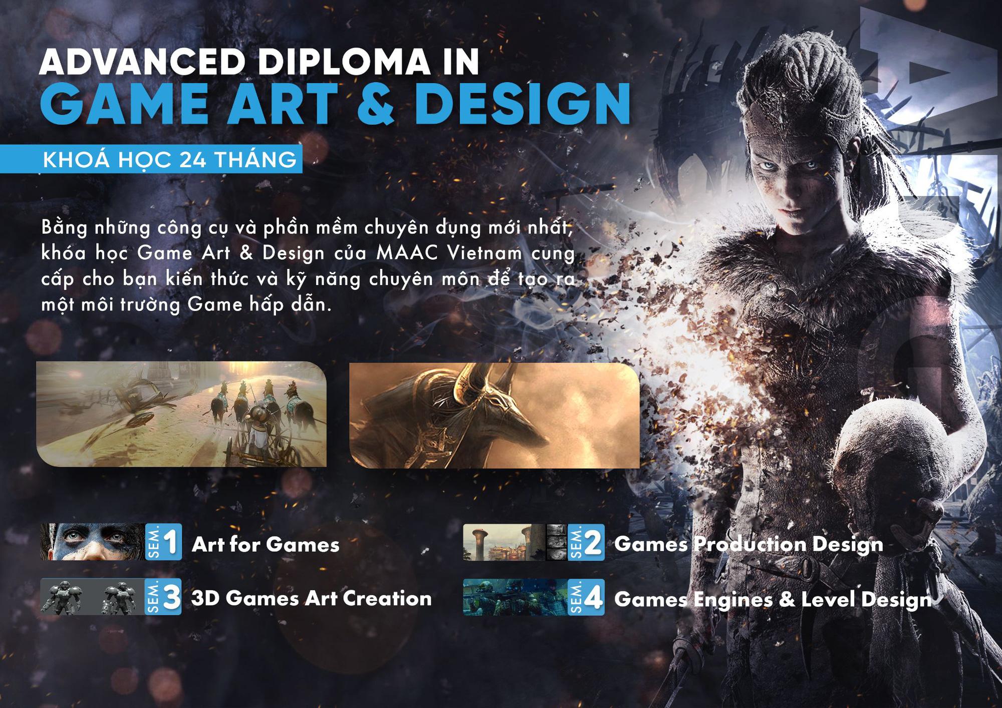 MAAC Vietnam ra mắt chương trình đào tạo Game Art & Design bài bản và chuyên sâu tại Việt Nam - Ảnh 3.