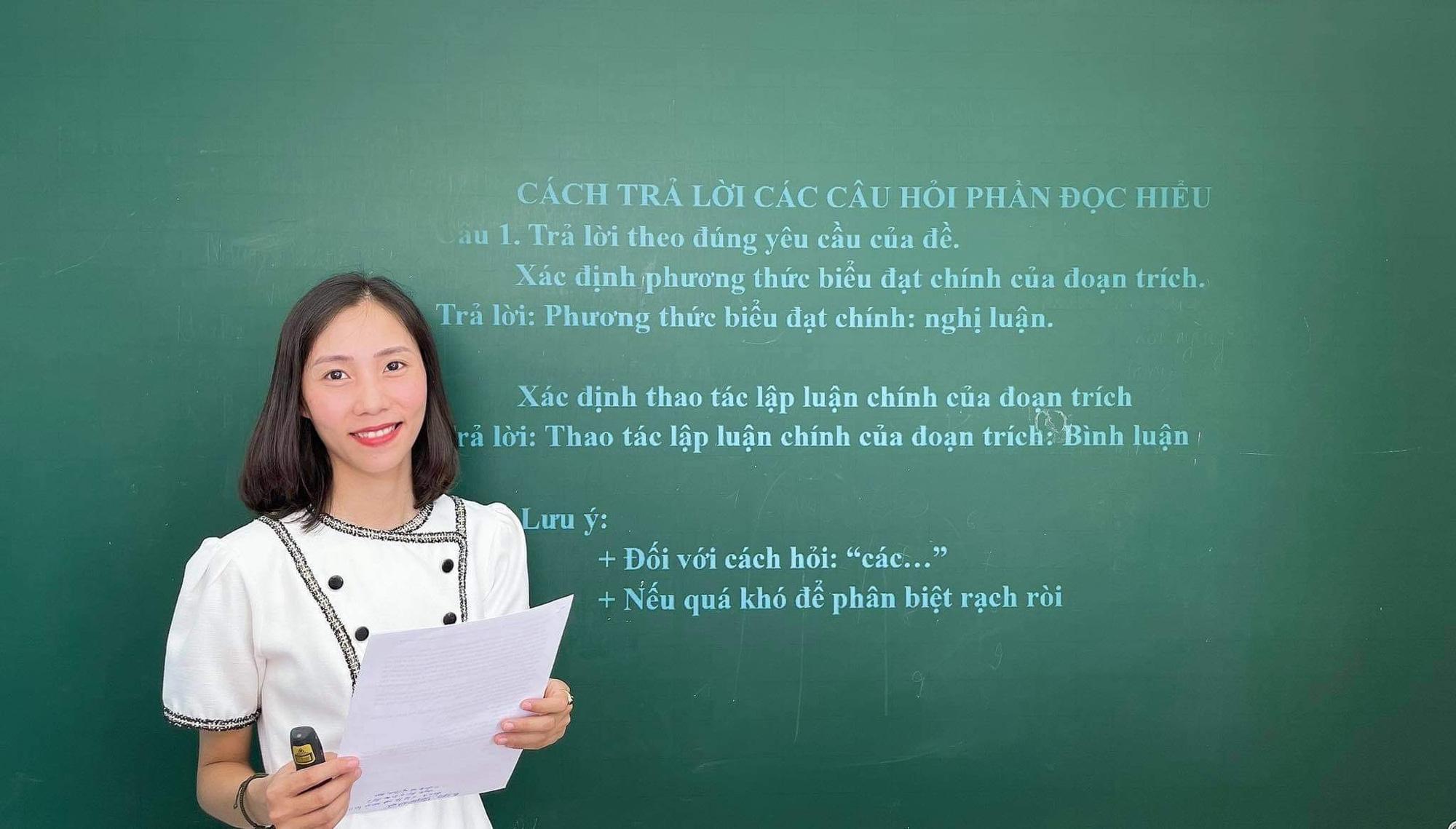 Giảng Văn online Trần Thị Thùy Dương - từ niềm đam mê môn Văn bất tận đến tình yêu dạy học trực tuyến - Ảnh 1.