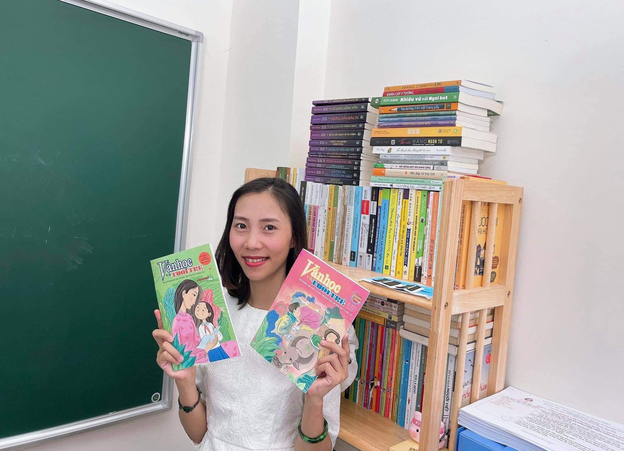 Giảng Văn online Trần Thị Thùy Dương - từ niềm đam mê môn Văn bất tận đến tình yêu dạy học trực tuyến - Ảnh 3.