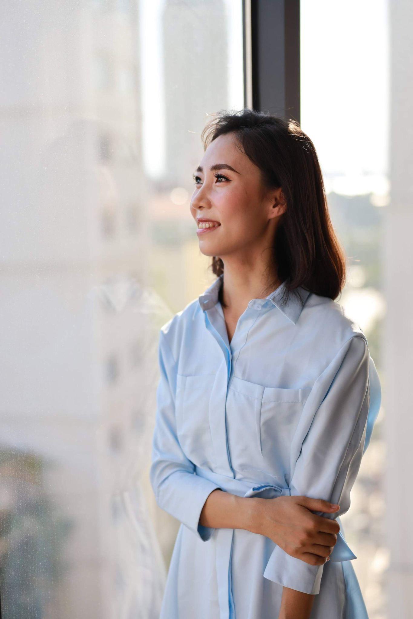 Giảng Văn online Trần Thị Thùy Dương - từ niềm đam mê môn Văn bất tận đến tình yêu dạy học trực tuyến - Ảnh 4.
