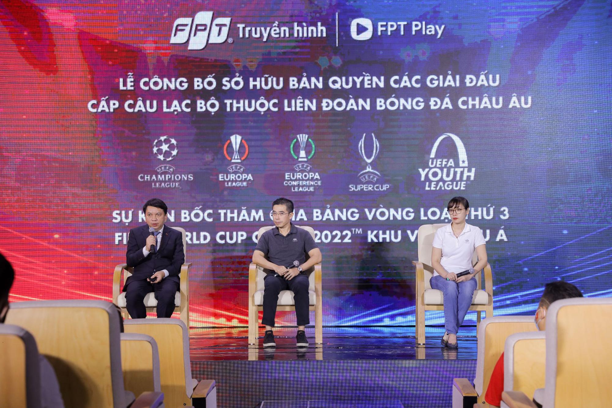 FPT khiến fan hâm mộ bóng đá mãn nhãn với sự kiện bốc thăm công nghệ AR đỉnh cao - Ảnh 1.