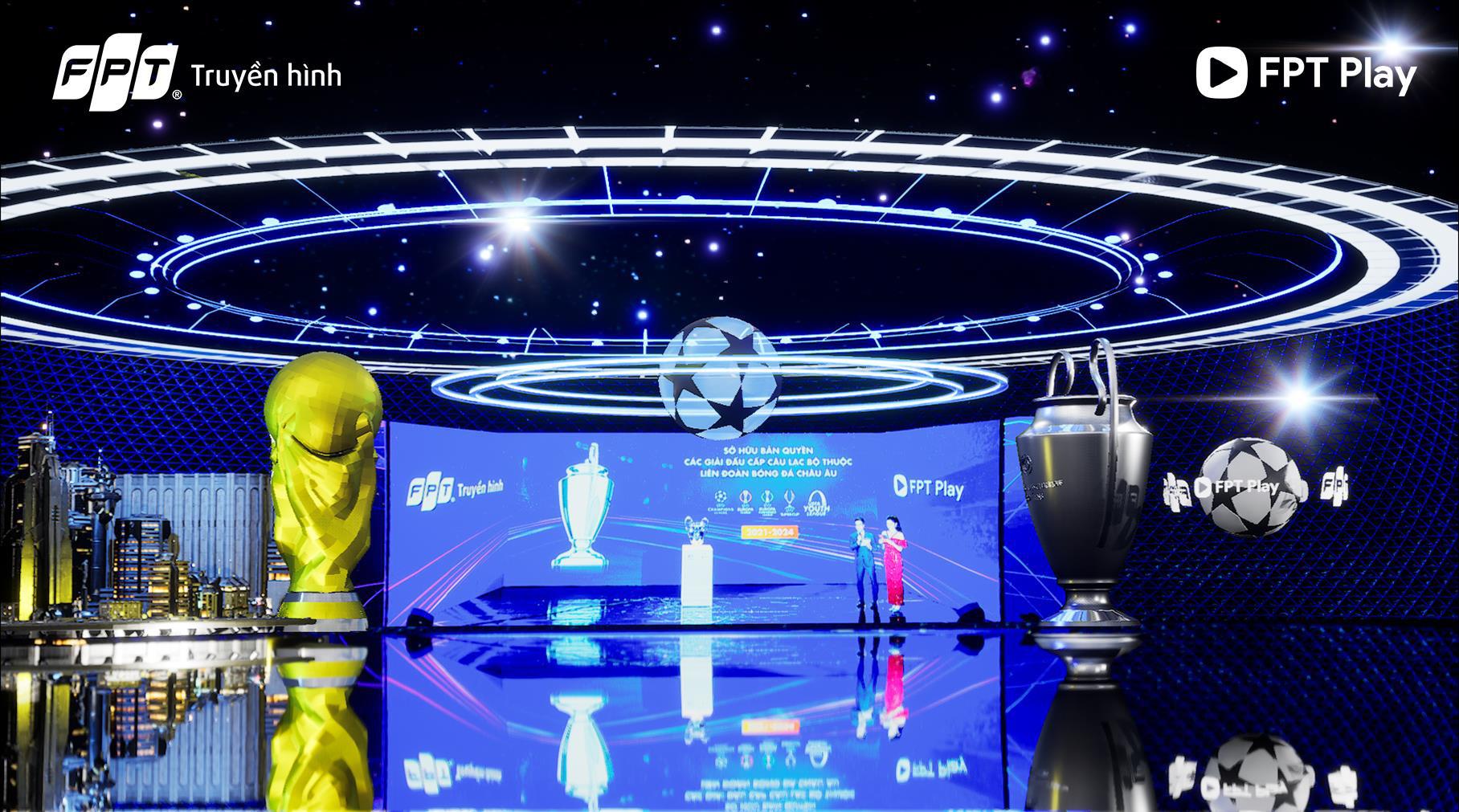 FPT khiến fan hâm mộ bóng đá mãn nhãn với sự kiện bốc thăm công nghệ AR đỉnh cao - Ảnh 2.