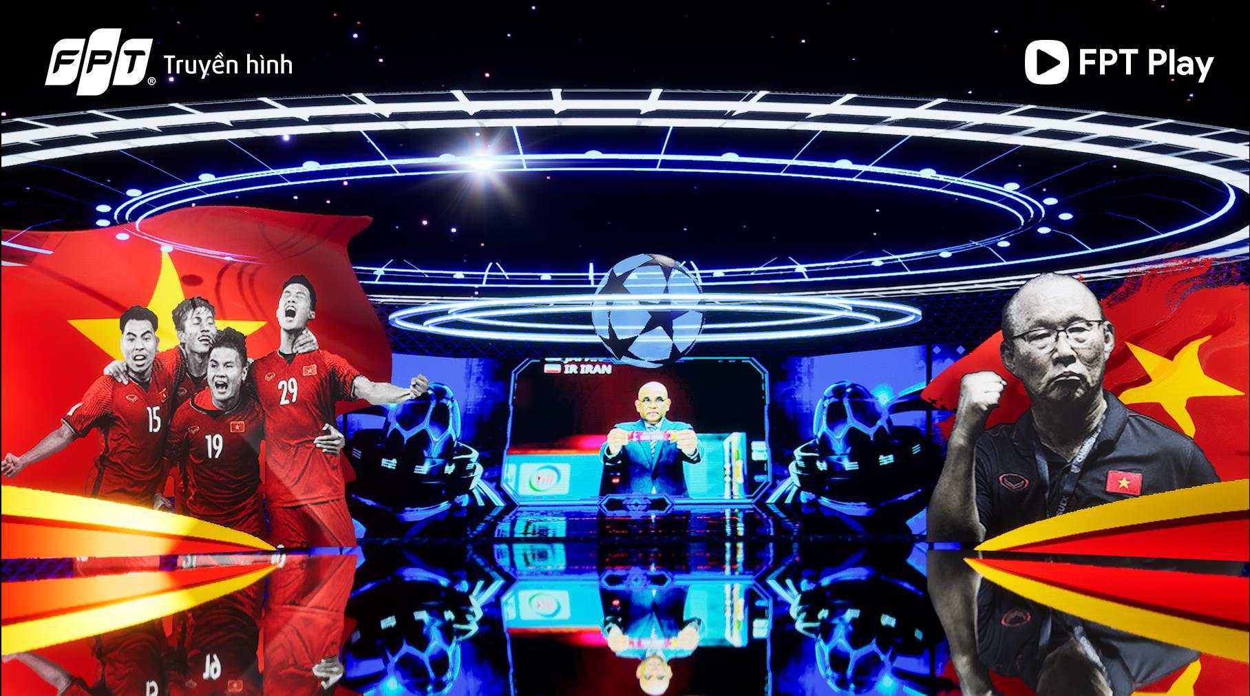 FPT khiến fan hâm mộ bóng đá mãn nhãn với sự kiện bốc thăm công nghệ AR đỉnh cao - Ảnh 3.