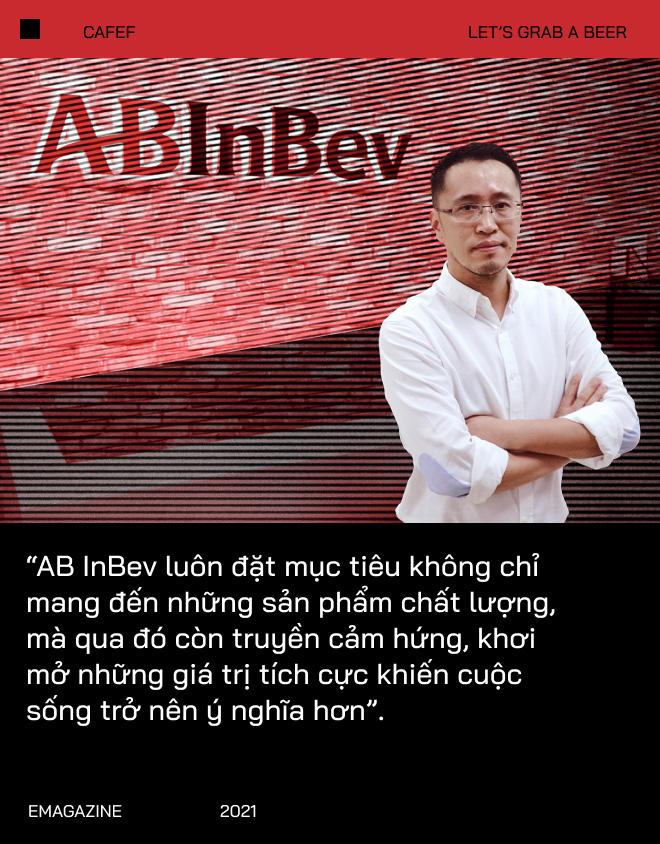 """Ông Hoàng Phương - Tổng Giám Đốc Công Ty Anheuser-Busch InBev Việt Nam: """"Giãn cách không có nghĩa là xa cách"""" - Ảnh 1."""