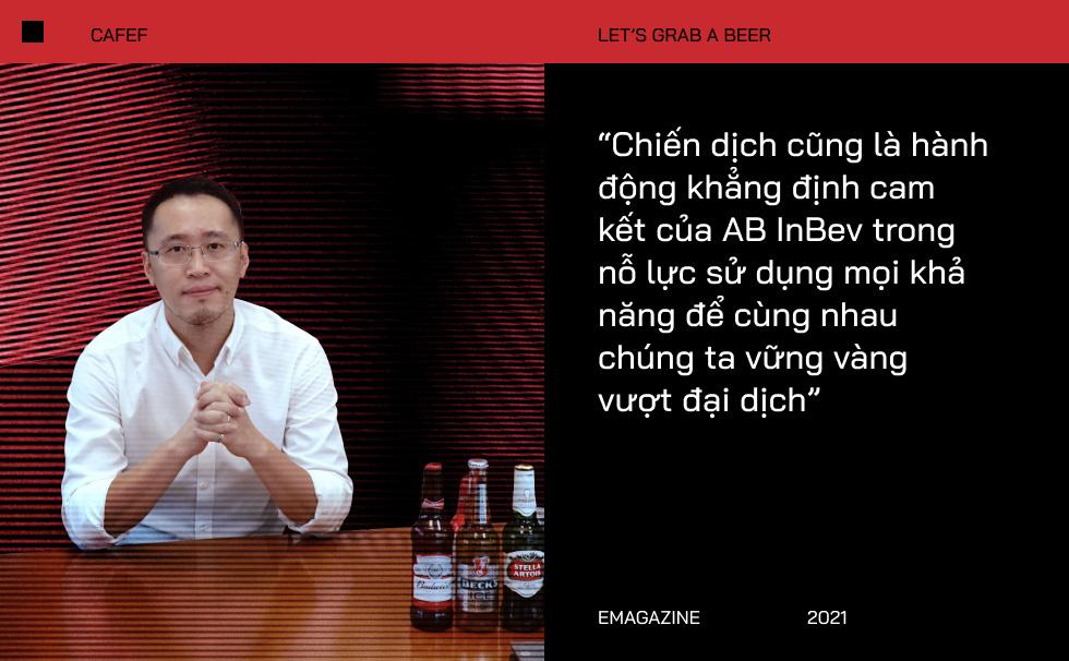 """Ông Hoàng Phương - Tổng Giám Đốc Công Ty Anheuser-Busch InBev Việt Nam: """"Giãn cách không có nghĩa là xa cách"""" - Ảnh 8."""