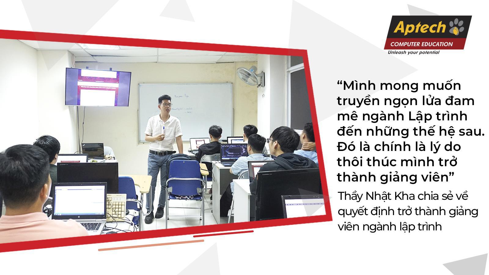 Hành trình theo đuổi đam mê lập trình của thầy giáo 9X - Ảnh 3.