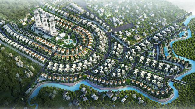 """Nhiều """"ông lớn"""" địa ốc đang đồng loạt đổ vốn đầu tư xây dựng các KĐT tại Hoà Lạc"""