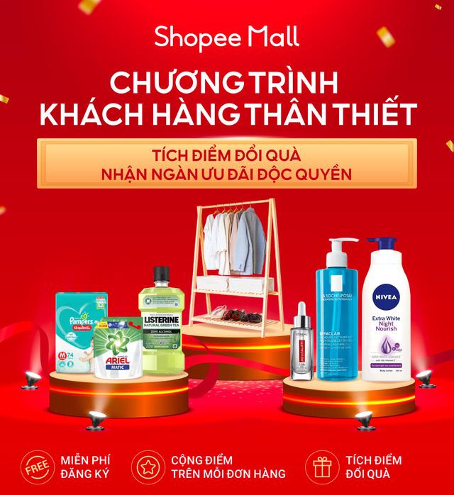 Shopee Mall triển khai chương trình Khách Hàng Thân Thiết nhằm gia tăng mức độ gắn kết của khách hàng với thương hiệu - Ảnh 1.