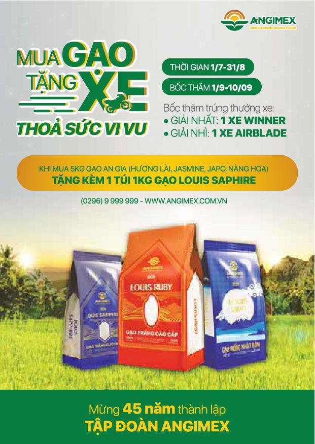 Người tiêu dùng An Giang háo hức với chương trình Mua gạo tặng xe - Ảnh 1.
