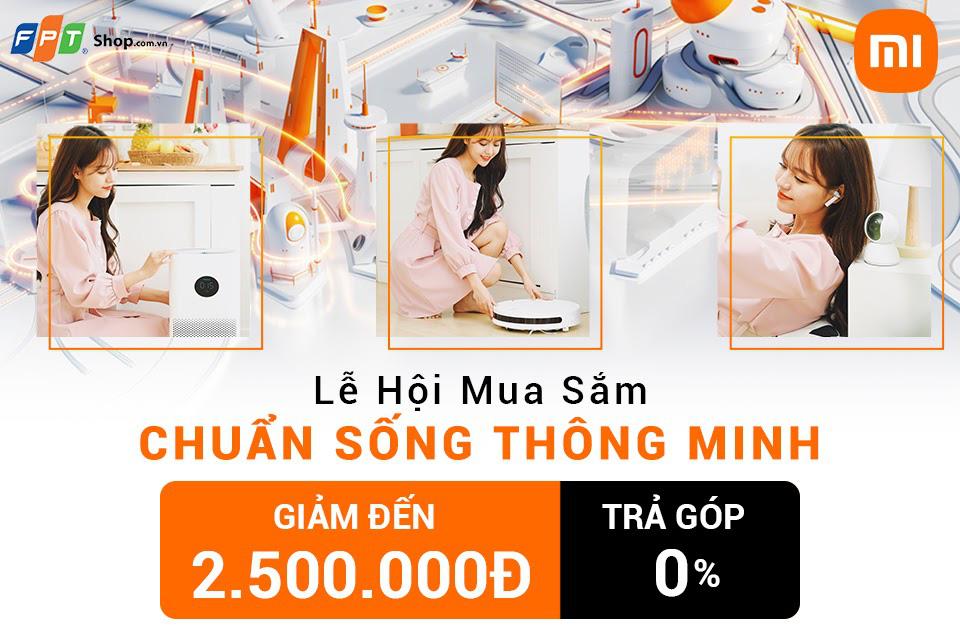 Nhận ưu đãi đến 2,5 triệu khi mua sản phẩm thuộc hệ sinh thái Xiaomi tại FPT Shop - Ảnh 1.
