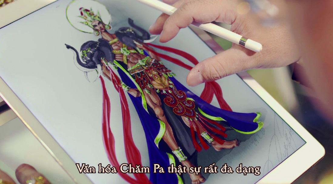 NTK Lê Long Dũng chia sẻ quá trình chế tác mẫu ngoại trang thuần Việt thứ 2 của Võ Lâm Truyền Kỳ Mobile - Ảnh 2.
