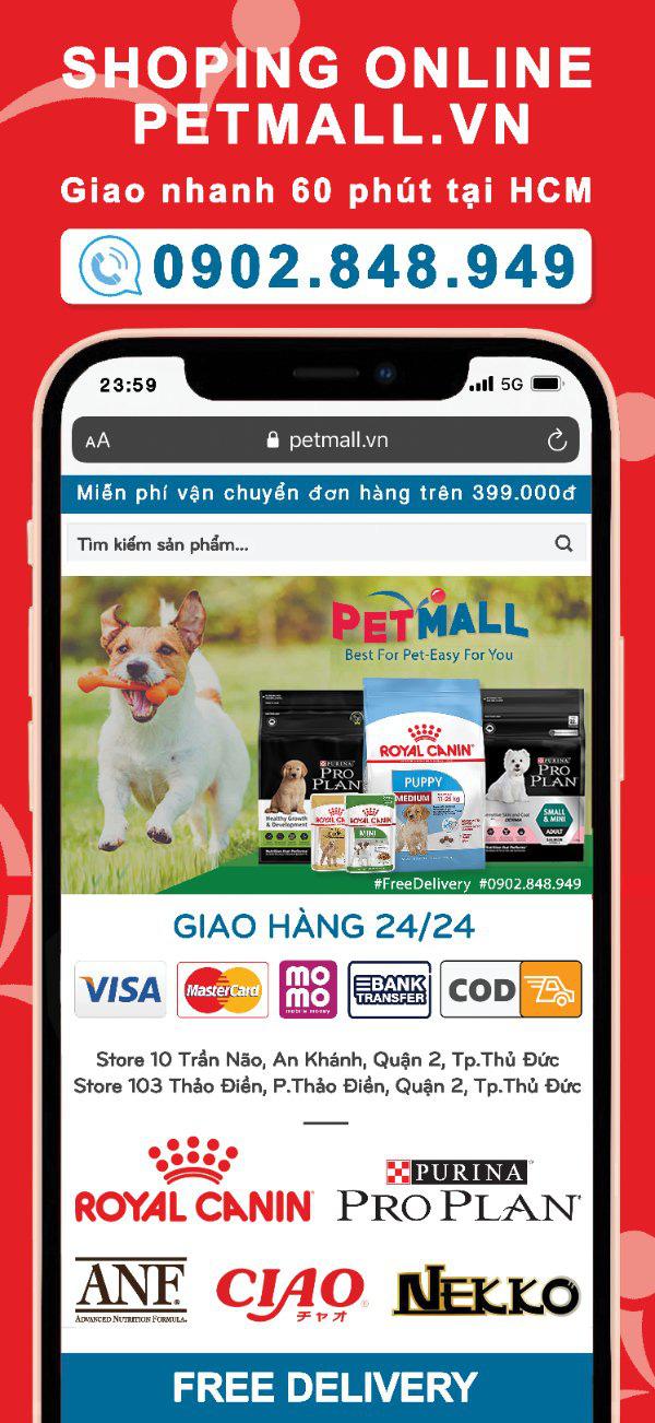 Hiệu ứng Covid-19 đưa Petmall.vn trở nên phổ biến với người nuôi thú cưng cùng dịch vụ freeship, giao nhanh trong 60 phút ở Sài Gòn - Ảnh 4.