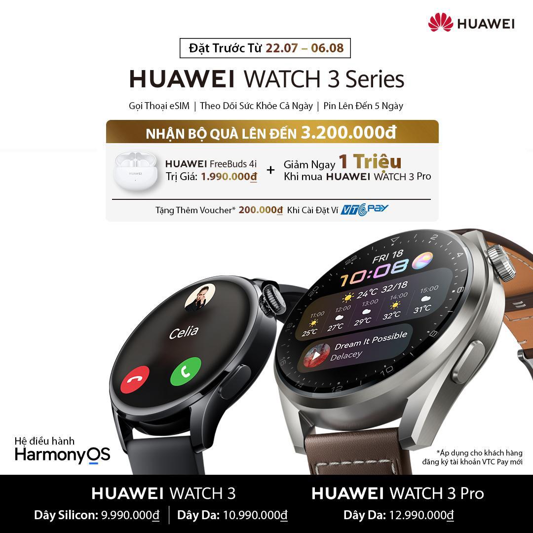 Ngoài đo SpO2, đây là 5 lý do khác khiến Huawei Watch 3 series xứng đáng nằm trên cổ tay bạn - Ảnh 6.