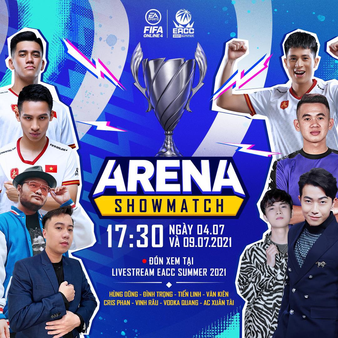 Cris Devil Gamer, Vinh Râu, Hùng Dũng cùng dàn tuyển thủ Việt Nam góp mặt trong gameshow mới của FIFA Online 4: ARENA Showmatch - Ảnh 1.