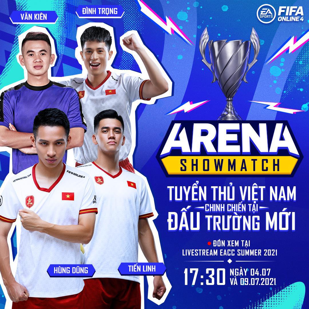 Cris Devil Gamer, Vinh Râu, Hùng Dũng cùng dàn tuyển thủ Việt Nam góp mặt trong gameshow mới của FIFA Online 4: ARENA Showmatch - Ảnh 2.