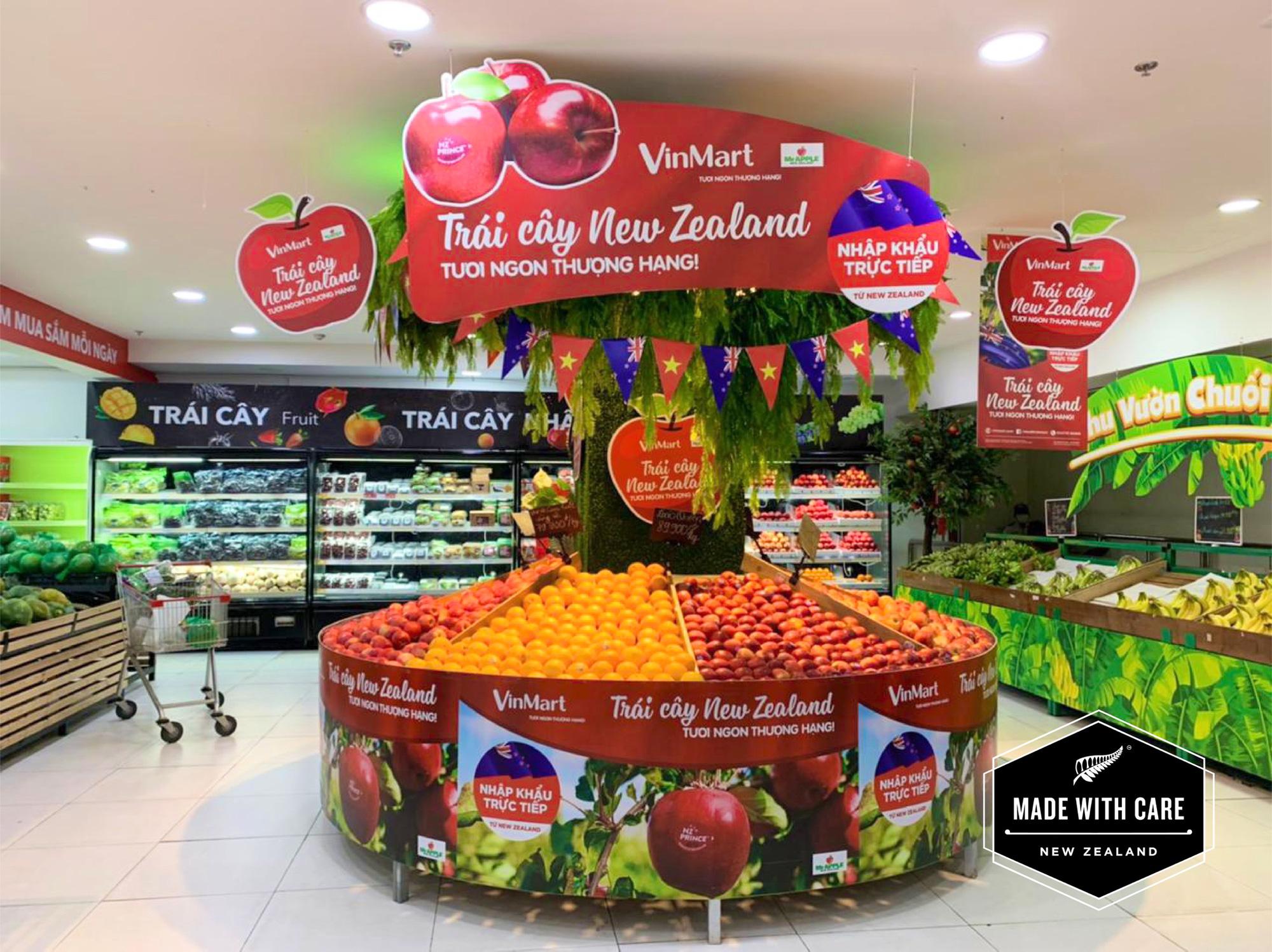 Trái cây New Zealand thượng hạng có mặt tại Vinmart - Ảnh 1.