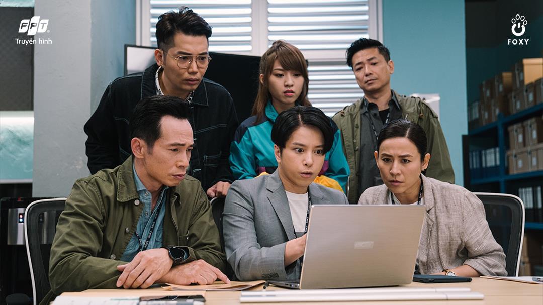 Huyền thoại TVB Lực Lượng Phản Ứng trở lại trong diện mạo tân thời hài hước - Ảnh 1.