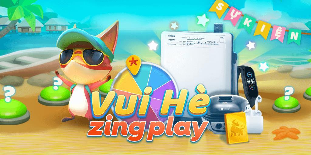"""""""Vui Hè ZingPlay"""" rinh ngay quà hot - Sân chơi tưng bừng của cộng đồng game thủ Việt - Ảnh 1."""