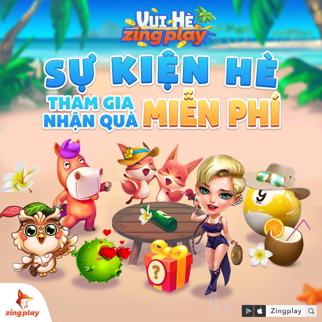 """""""Vui Hè ZingPlay"""" rinh ngay quà hot - Sân chơi tưng bừng của cộng đồng game thủ Việt - Ảnh 2."""