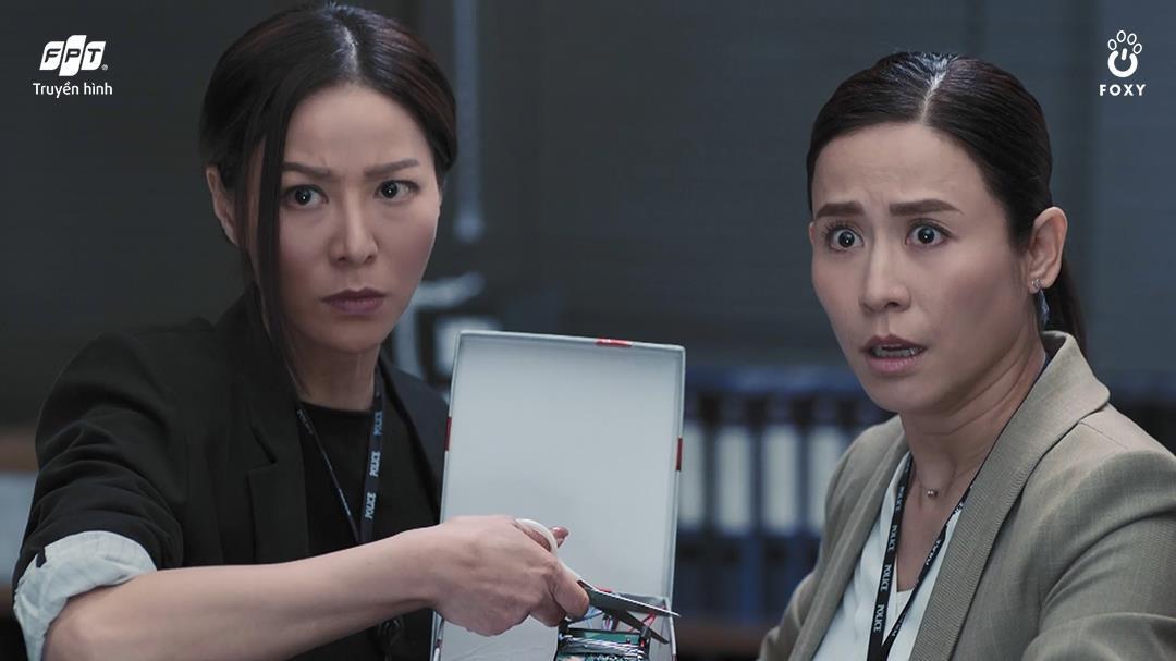 Huyền thoại TVB Lực Lượng Phản Ứng trở lại trong diện mạo tân thời hài hước - Ảnh 5.