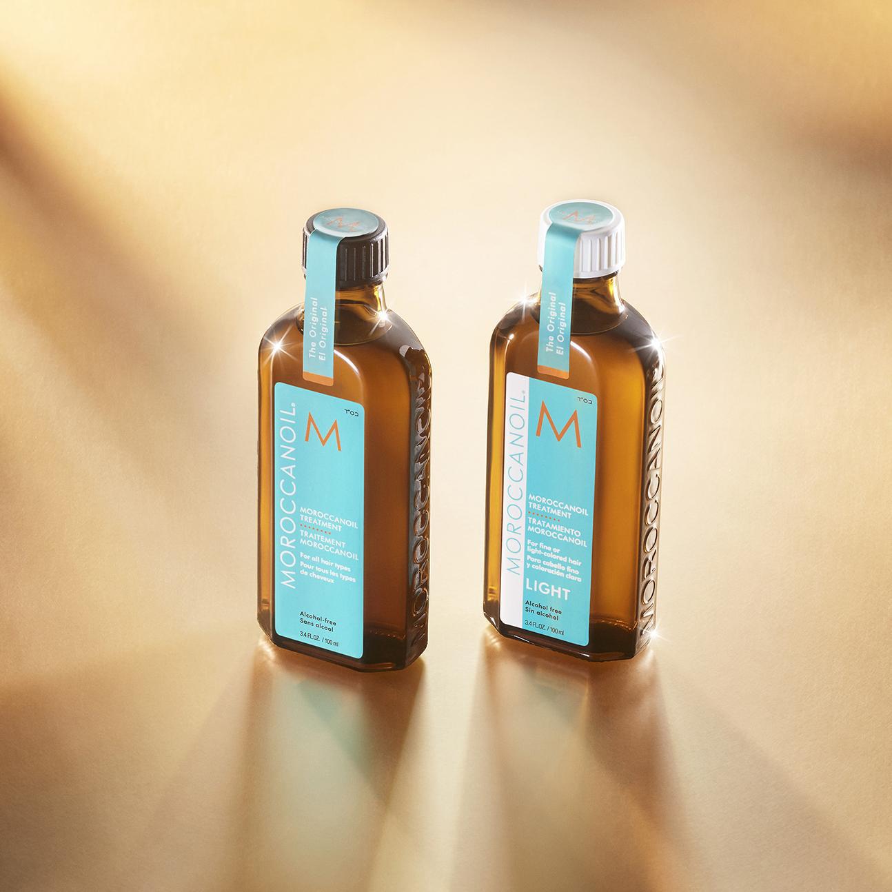 Dầu dưỡng tóc Moroccanoil tăng độ óng ả lên đến 118% - Ảnh 1.