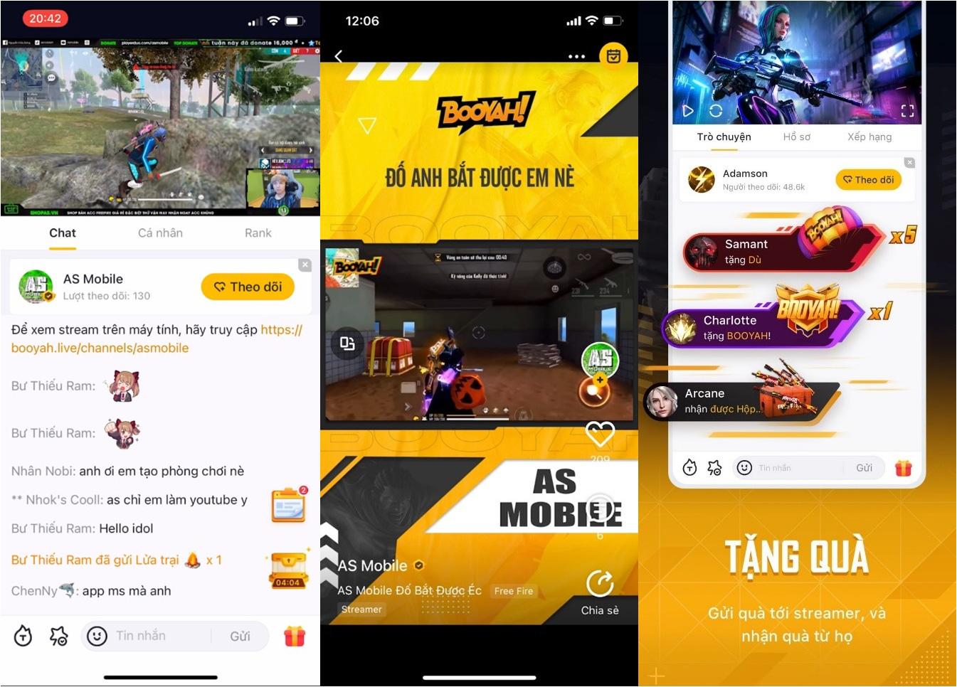 Giới streamer đổ xô trải nghiệm nền tảng livestream mới BOOYAH! live - Có cả AS Mobile, Flash ADC, BLV hoàng Luân... - Ảnh 1.