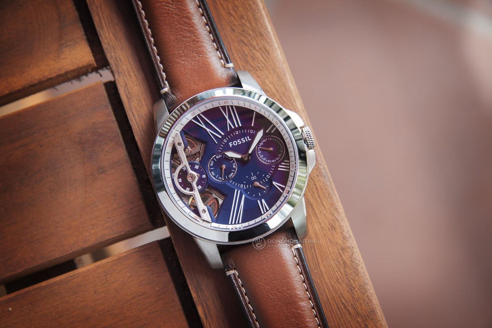 Top các mẫu đồng hồ Fossil Blue đẹp mắt, đang được săn lùng - Ảnh 4.