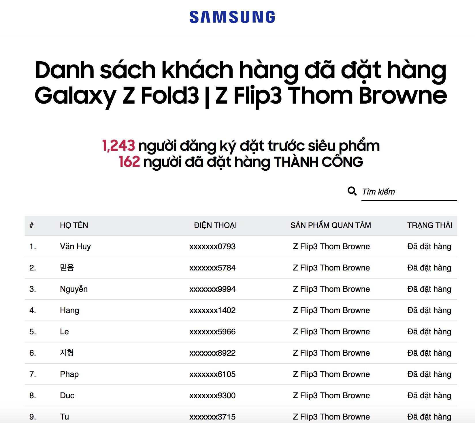 200 máy Galaxy Z Thom Browne đã tìm được chủ nhân sau nửa ngày mở bán - Ảnh 3.
