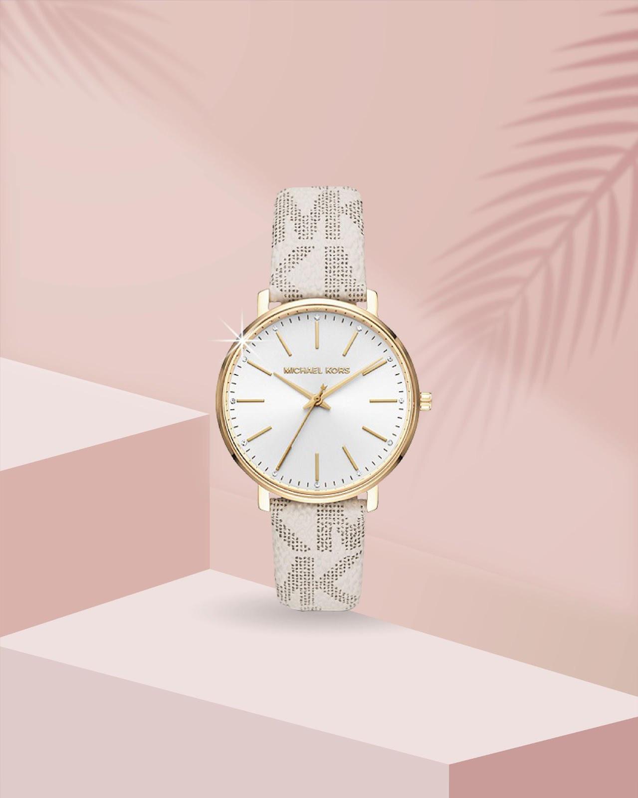 Top đồng hồ Michael Kors nữ mẫu mới vừa ra mắt gây sốt - Ảnh 2.
