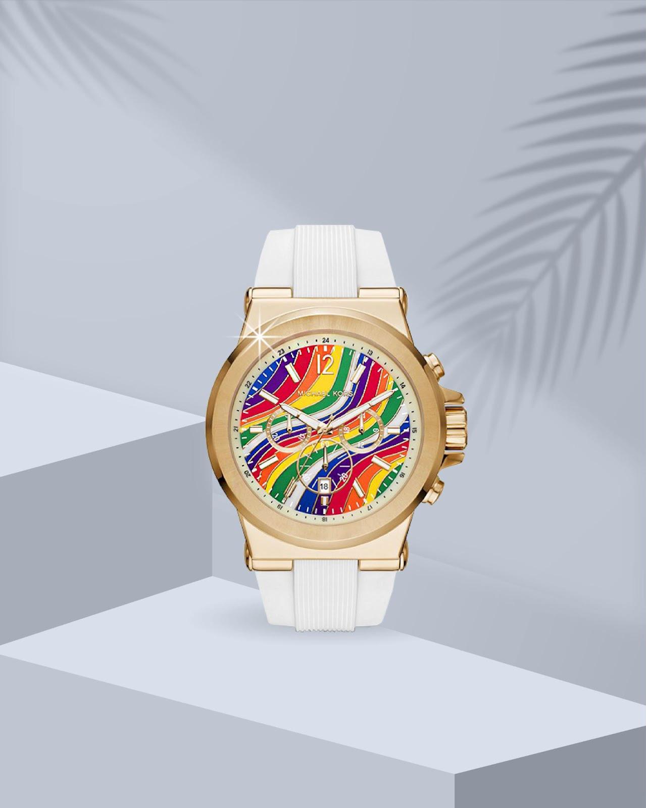 Top đồng hồ Michael Kors nữ mẫu mới vừa ra mắt gây sốt - Ảnh 3.