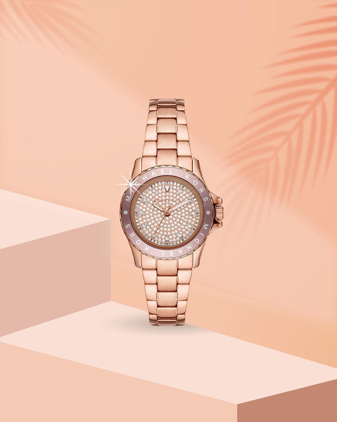 Top đồng hồ Michael Kors nữ mẫu mới vừa ra mắt gây sốt - Ảnh 5.