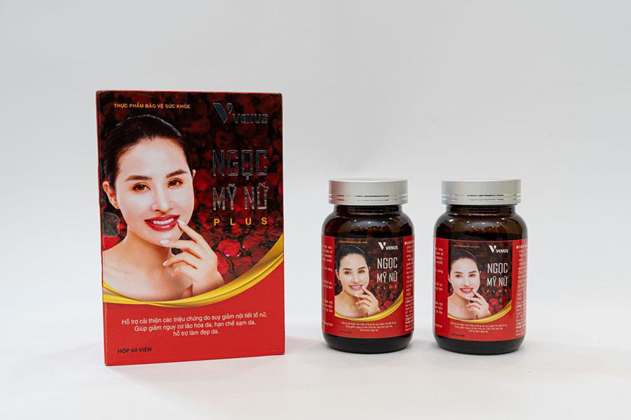TPBVSK Ngọc Mỹ Nữ Plus - sản phẩm hỗ trợ cải thiện các triệu chứng do suy giảm nội tiết tố nữ