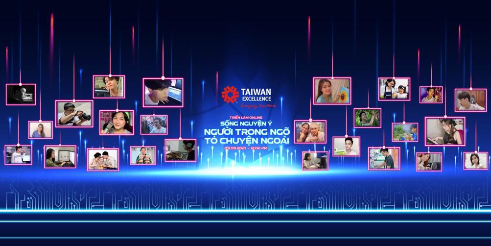 """Taiwan Excellence gửi gắm thông điệp tích cực với buổi triển lãm online """"Sống Nguyện Ý: Người trong ngõ tỏ chuyện ngoài"""" - Ảnh 1."""