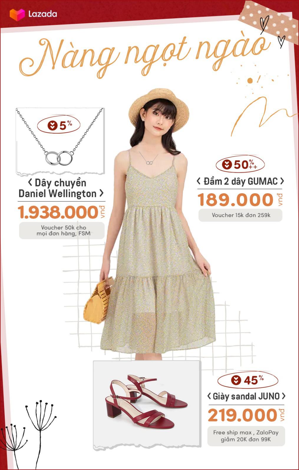 4 set đồ cho hội nam thanh nữ tú đẹp chuẩn fashionista khi vào thu, sale tới 50%++ trên Lazada mà toàn món đẹp mê - Ảnh 1.
