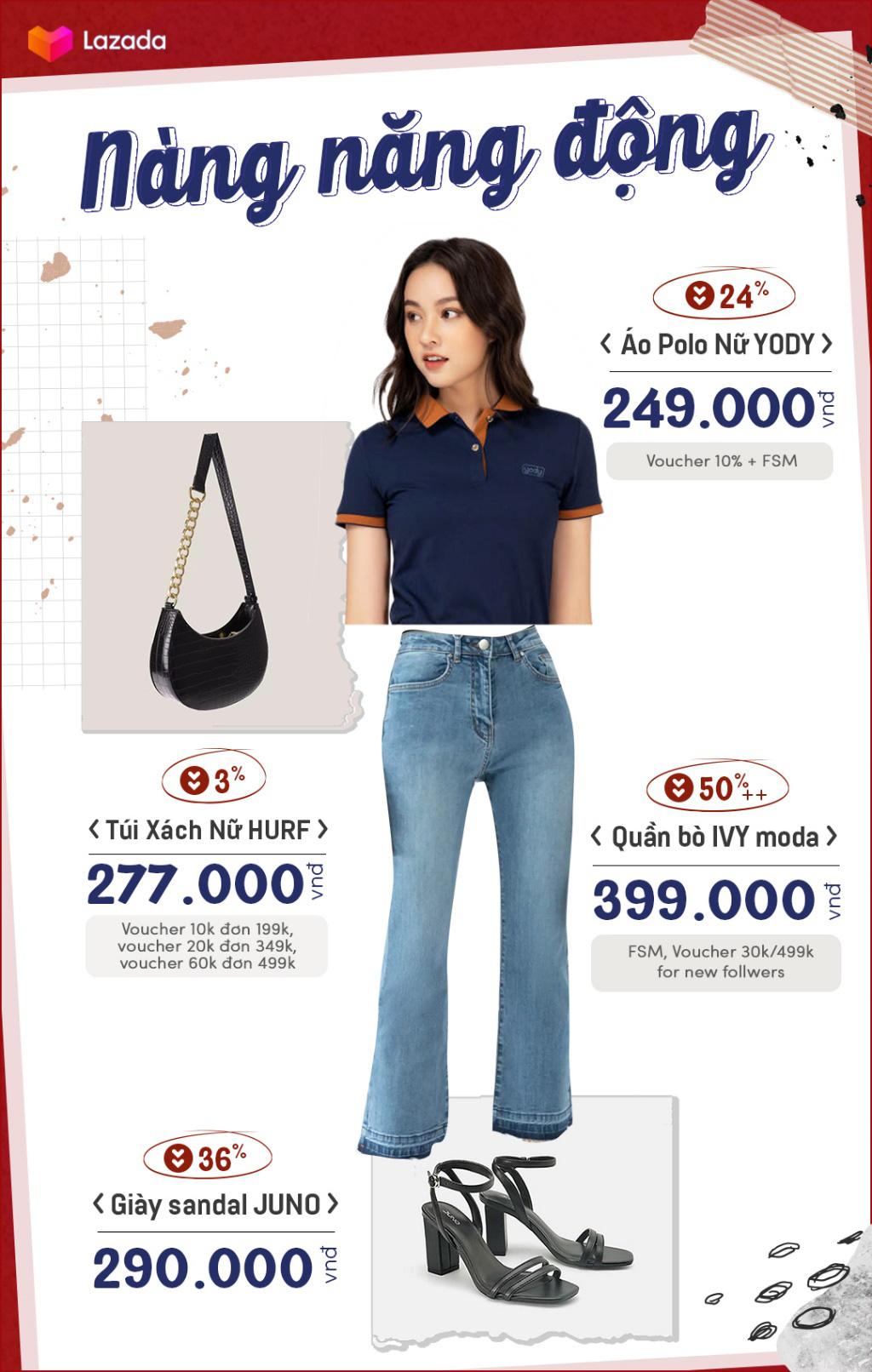 4 set đồ cho hội nam thanh nữ tú đẹp chuẩn fashionista khi vào thu, sale tới 50%++ trên Lazada mà toàn món đẹp mê - Ảnh 2.