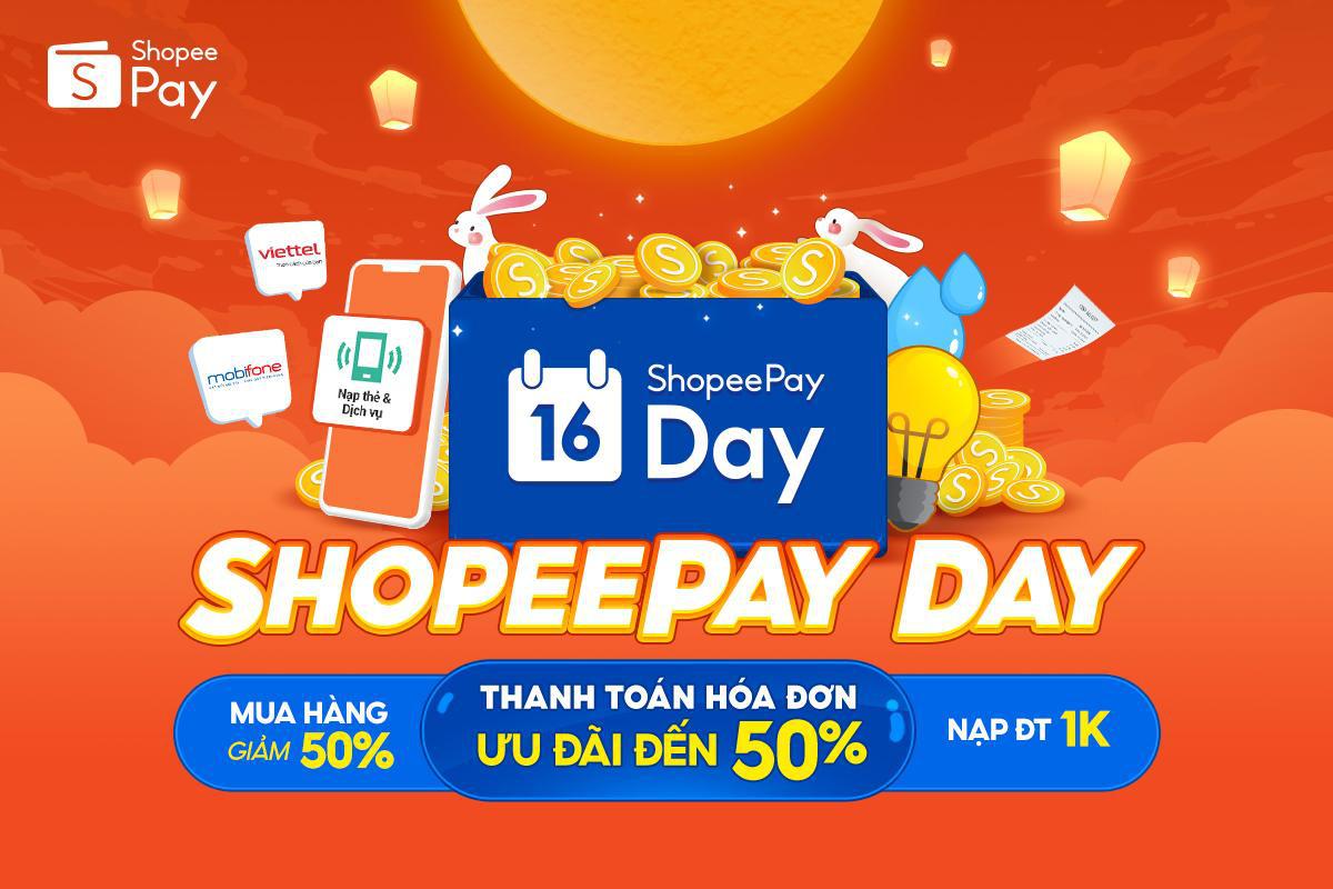 Từ thanh toán hóa đơn đến mua sắm trực tuyến, tất cả đều có ưu đãi tại ShopeePay Day - Ảnh 1.