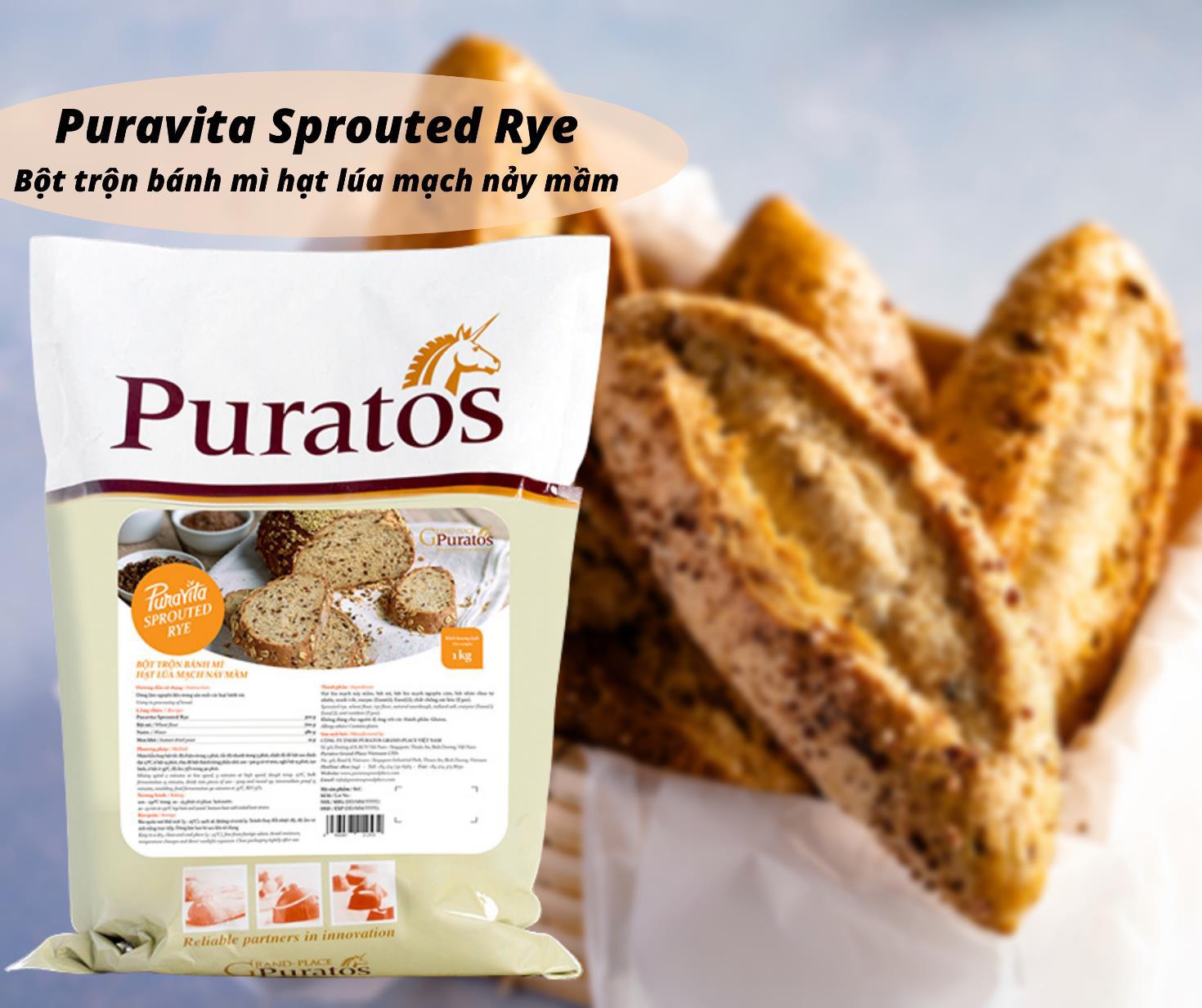 Tăng cường hệ miễn dịch với bánh mì hạt lúa mạch nảy mầm - Ảnh 4.