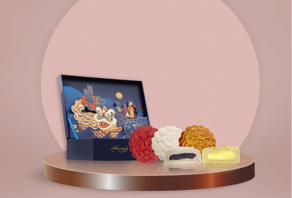 Khám phá bánh Trung thu tan chảy hot trend - Ảnh 1.