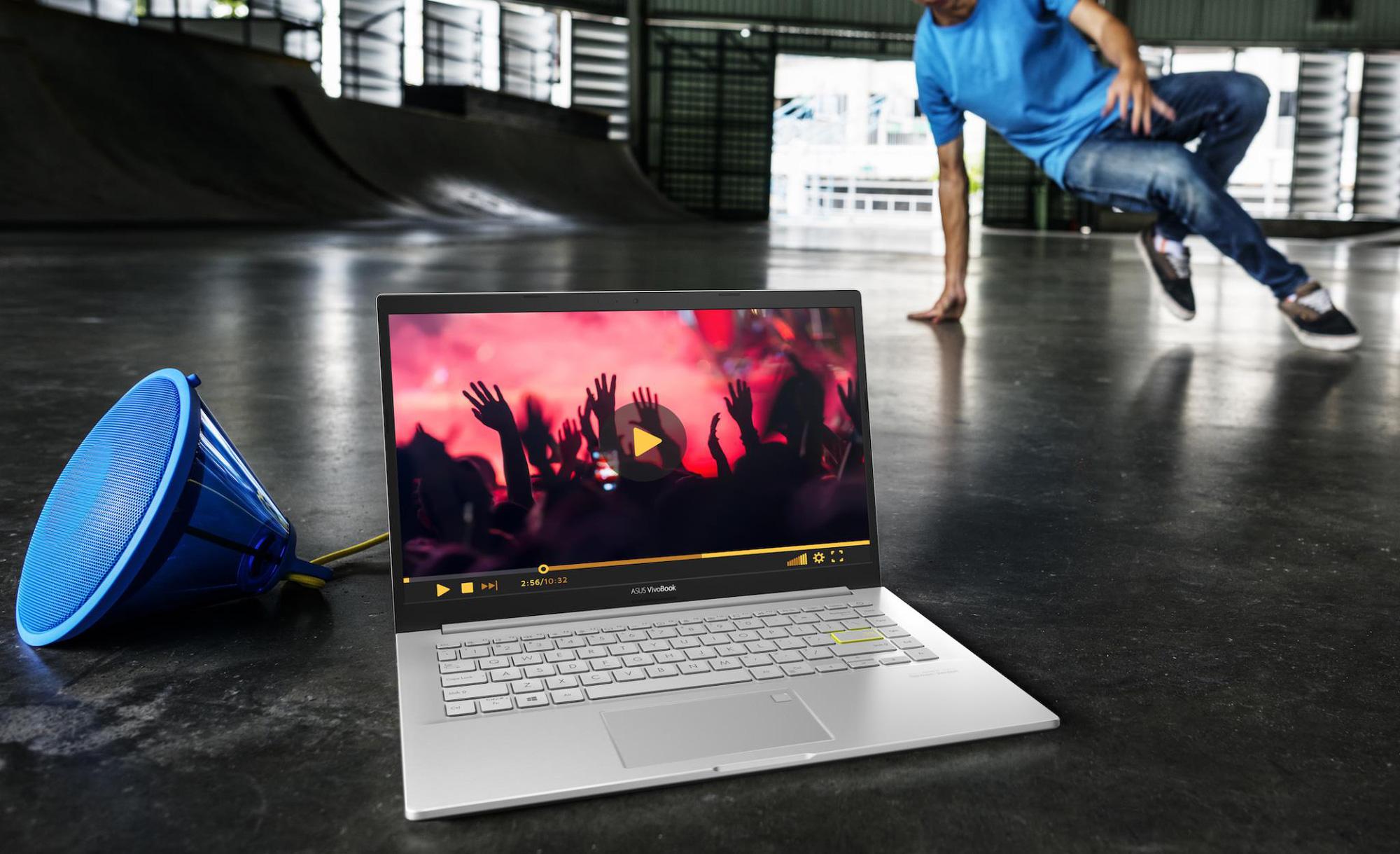 ASUS VivoBook 15 OLED - Mẫu laptop hot hit mới cho Gen Z mùa tựu trường 2021 - Ảnh 1.
