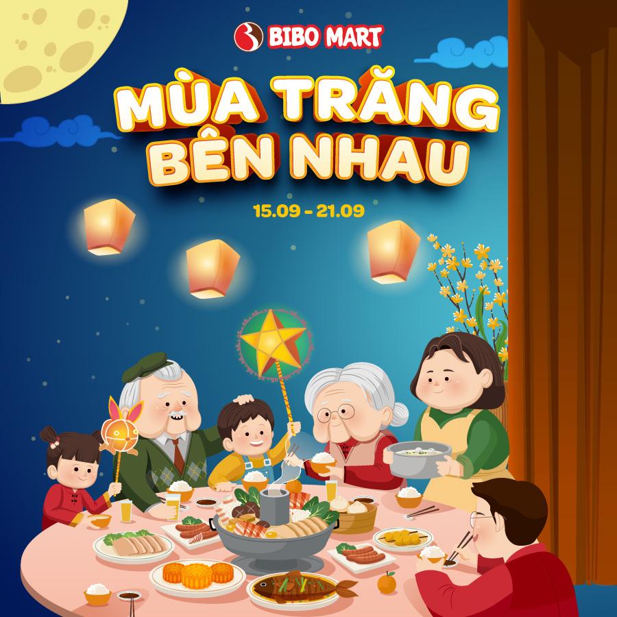 """Khám phá """"Mùa trăng bên nhau"""" cùng BIBO Mart với các hoạt động đón Trung thu ý nghĩa - Ảnh 1."""