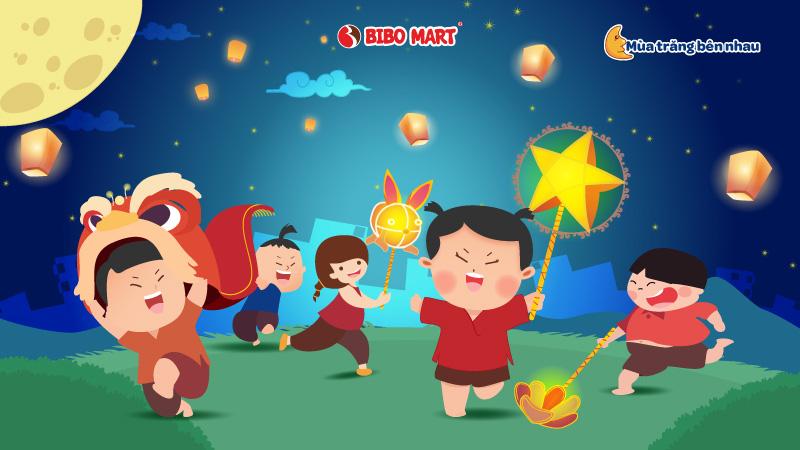 """Khám phá """"Mùa trăng bên nhau"""" cùng BIBO Mart với các hoạt động đón Trung thu ý nghĩa - Ảnh 2."""