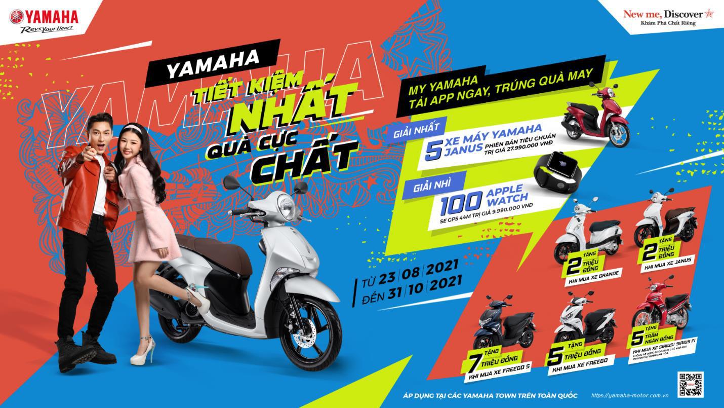 """Mua xe máy Yamaha - """"Tiết kiệm nhất, nhận quà cực chất"""" - Ảnh 1."""