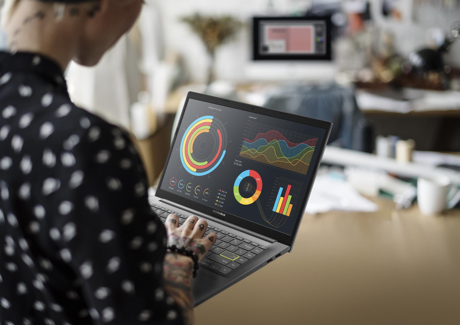 ASUS VivoBook 15 OLED - Mẫu laptop hot hit mới cho Gen Z mùa tựu trường 2021 - Ảnh 4.