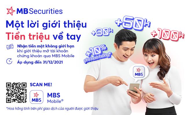Chứng khoán MBS tung hàng loạt ưu đãi và miễn phí cho khách hàng mới - Ảnh 2.